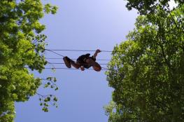 Kudowa-Zdrój Atrakcja park linowy Park Linowy Kudowa